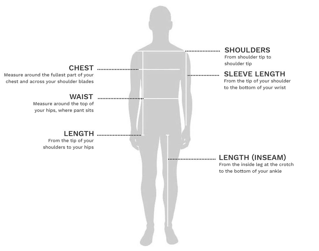Sizing Chart - Adaptive Clothing Indonesia